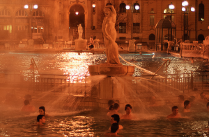 Night in Szechenyi Bath