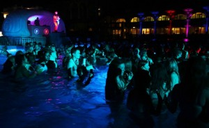 Budapest Bath Party Night in Szechenyi Baths