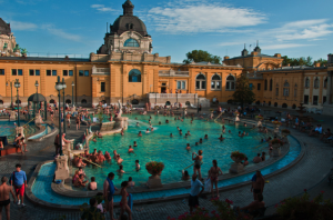 Busy Baths - Szechenyi Baths