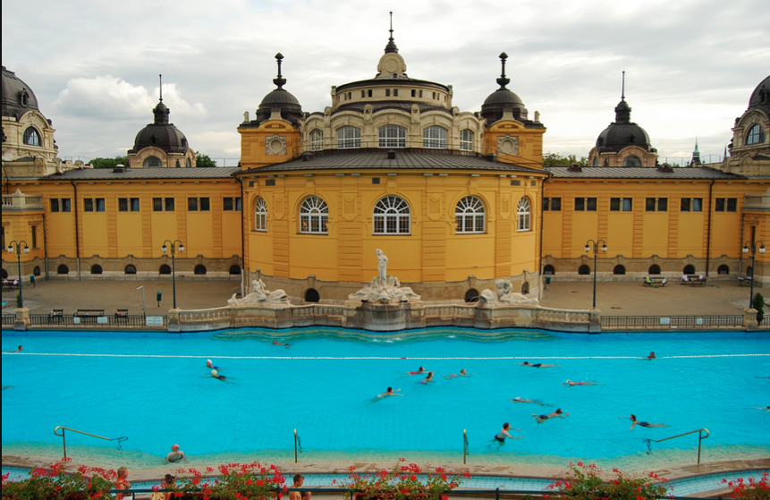 Sports Pool of Szechenyi Baths and Pool