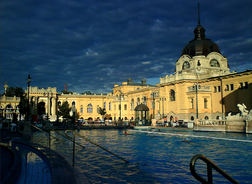 Swimming Pool at Szechenyi Spa Baths
