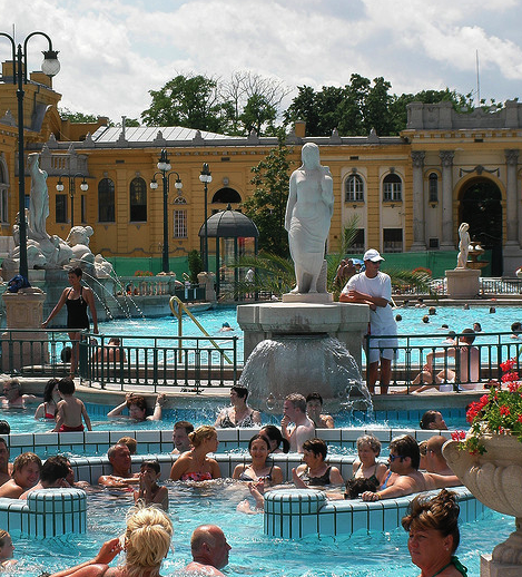 Szechenyi Baths Pools
