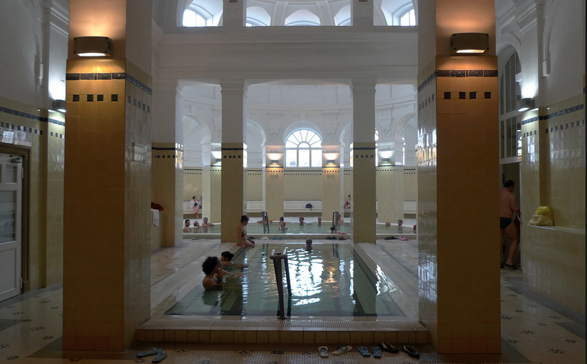 Indoor Thermal Pool at Szechenyi Baths - 1 of the 15 Indoor Pools
