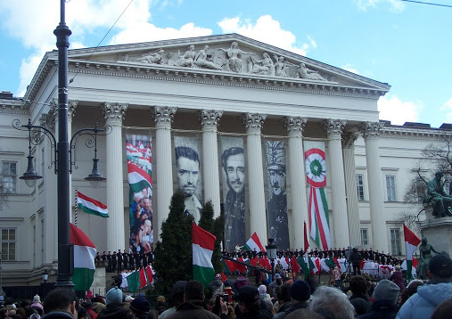 March 15 Budapest National Museum