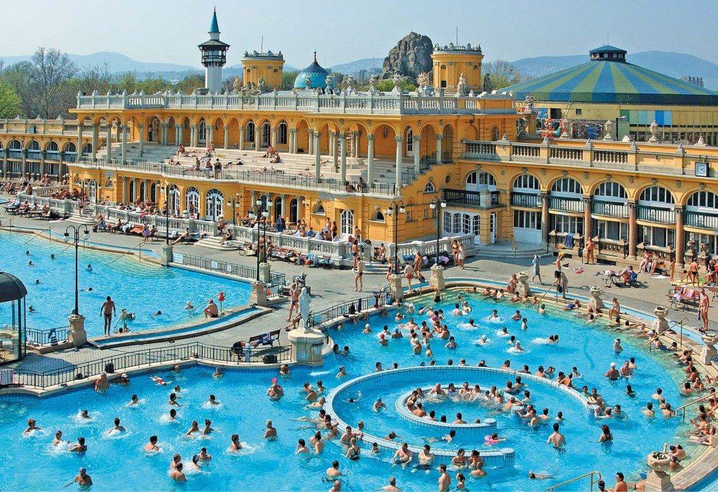 Szechenyi Spa Baths Outdoor Pools