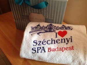 Szechenyi Baths Bath Kit and Towel