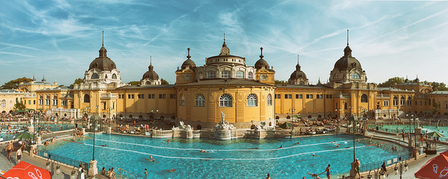 Szechenyi Spa Baths Loizeau photography