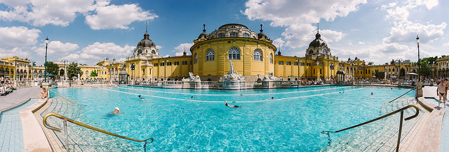 Szechenyi Spa Baths photo by Wei-Te Wong