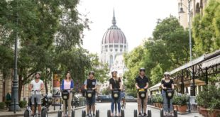 Budapest Segway Tour with Bath Entry